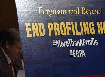 News video: Group Seeks Strategy to End Racial Profiling